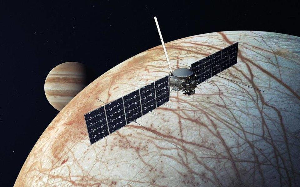 NASA иSpaceX Илона Маска будут искать признаки жизни наспутнике Юпитера