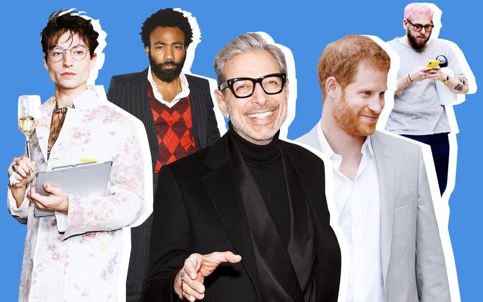 20 самых модных мужчин 2018 года