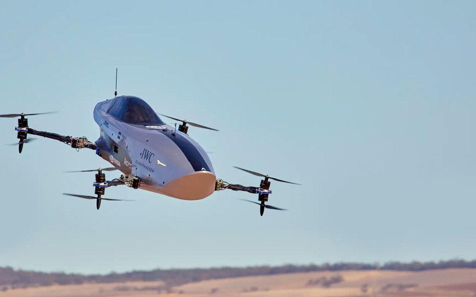 В Австралии испытали беспилотный электромобиль для будущих воздушных гонок в стиле «Формулы-1»