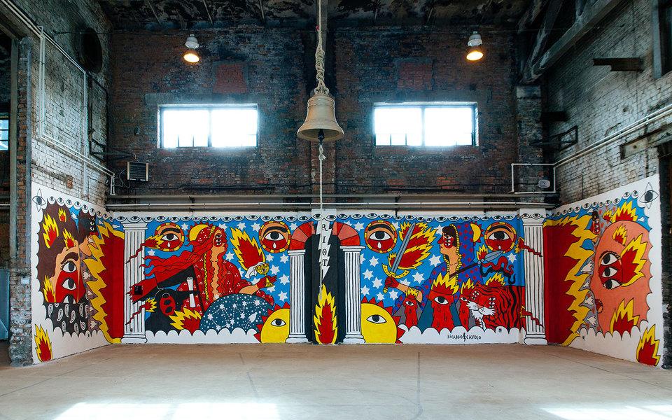 В Музее стрит-арта откроется выставка «Хоть стой, хоть падай»