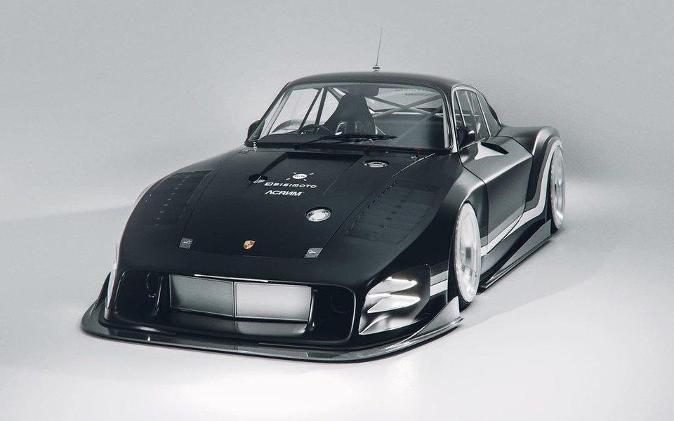 Porsche объединились сдизайнером ихудожником, которые перепридумали длябренда легендарную модель Moby Dick 1970-х. Иэто очень красиво