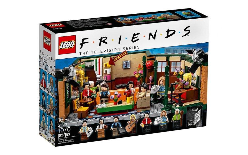Lego выпустили конструктор к25-летию сериала «Друзья». Он полностью воссоздает кофейню Central Perk