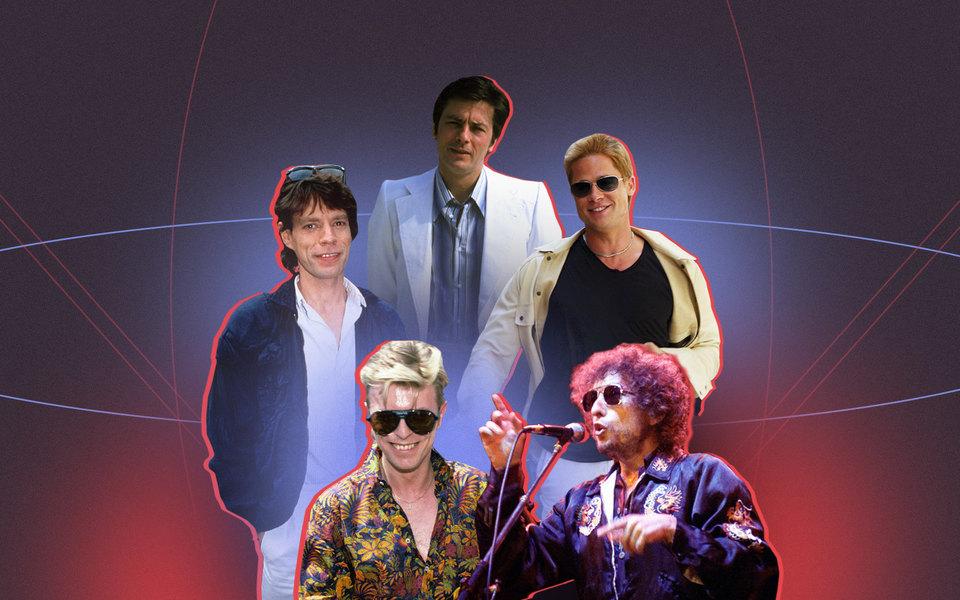 Как выглядели ичто носили Шон Коннери, Дэвид Боуи, Леонардо ДиКаприо идругие знаменитые мужчины в40 лет