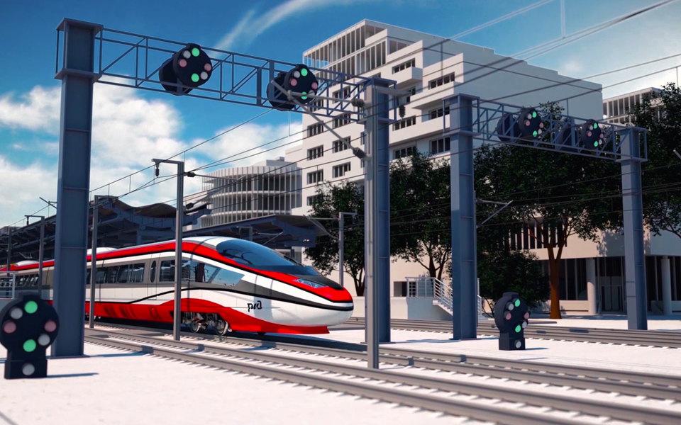 РЖД показали еще один поезд будущего — как «Сапсан», только быстрее