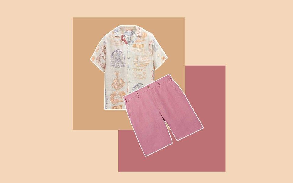 Как мужчинам начать носить одежду изо льна — самой летней ткани