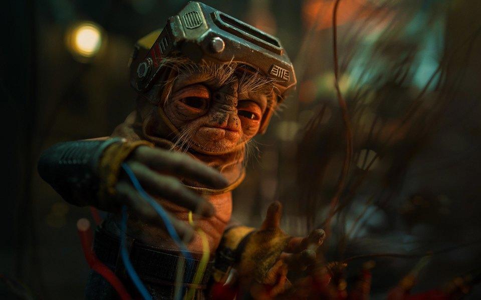 Создатели «Звездных войн» показали нового персонажа. Его зовут Бабу Фрик