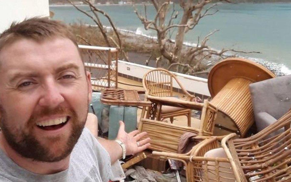 Ирландец купил дом своей мечты. А черезпять дней ураган Ирма разрушил жилище