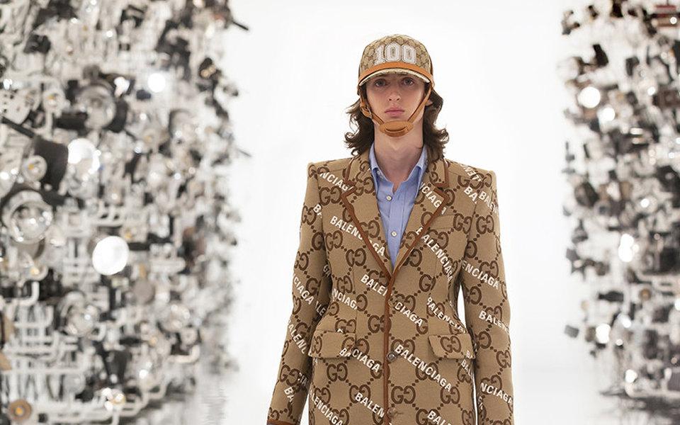 Первое шоу вгод столетнего юбилея: Gucci показали коллекцию Aria