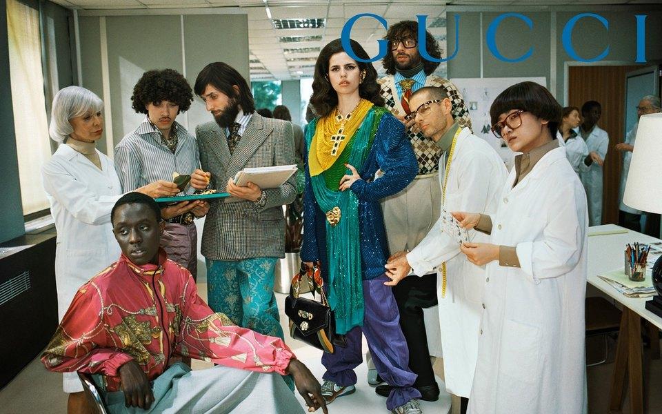 Gucci — снова самый популярный модный бренд поверсии Lyst