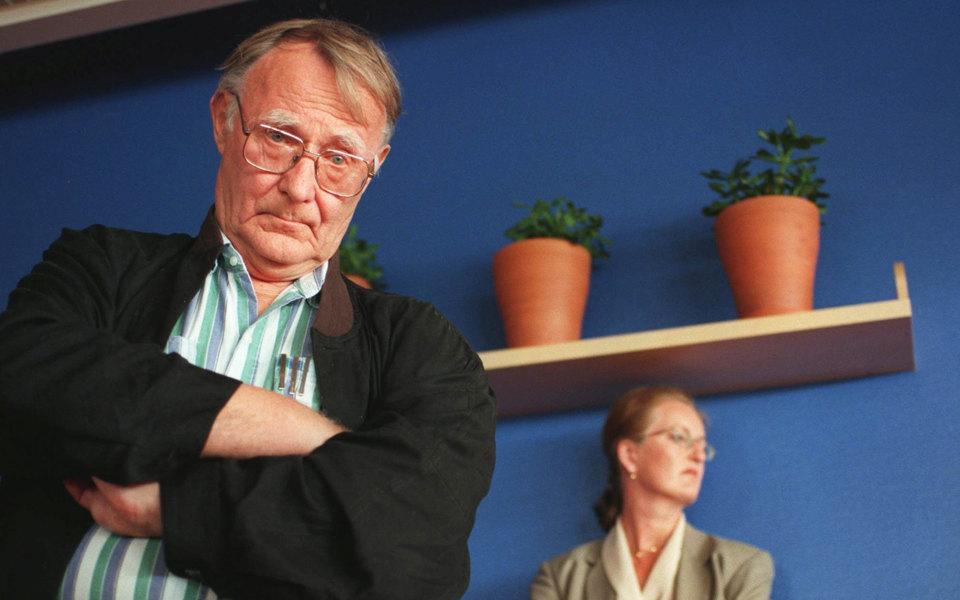 В Швеции умер основатель IKEA Ингвар Кампрад