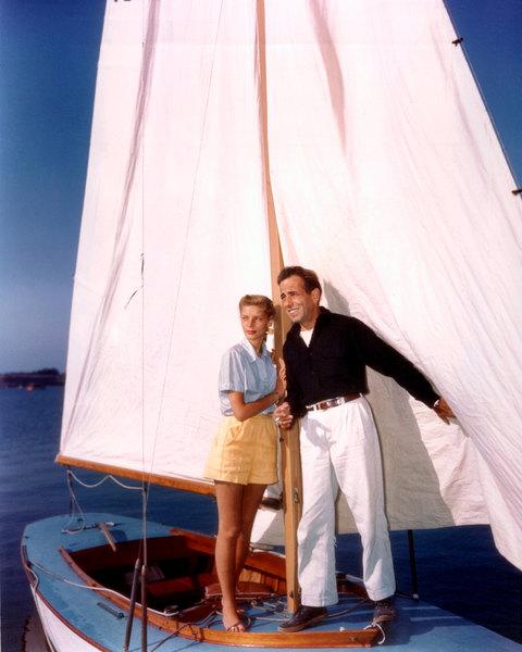 Лорен Бэколл и Хамфри Богарт, 1950
