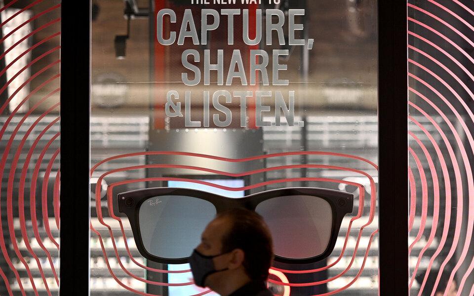 ФСБ допустила, что умные очки от Facebook и Ray-Ban можно отнести к шпионским устройствам