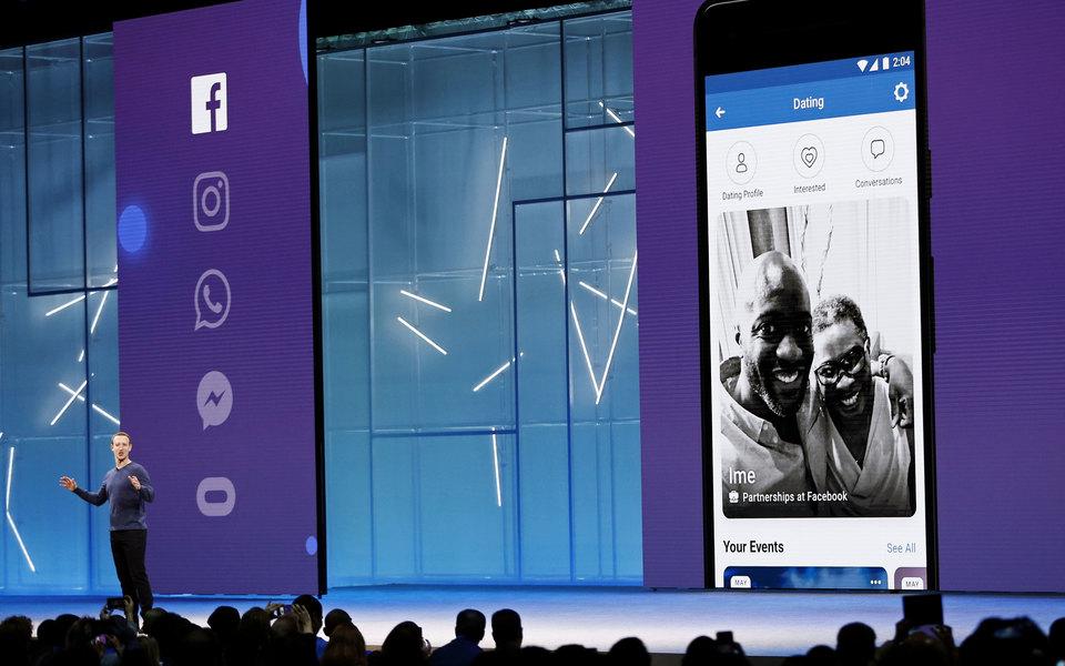 Facebook начал тестировать сервис знакомств. Внем можно выбрать партнера погендеру