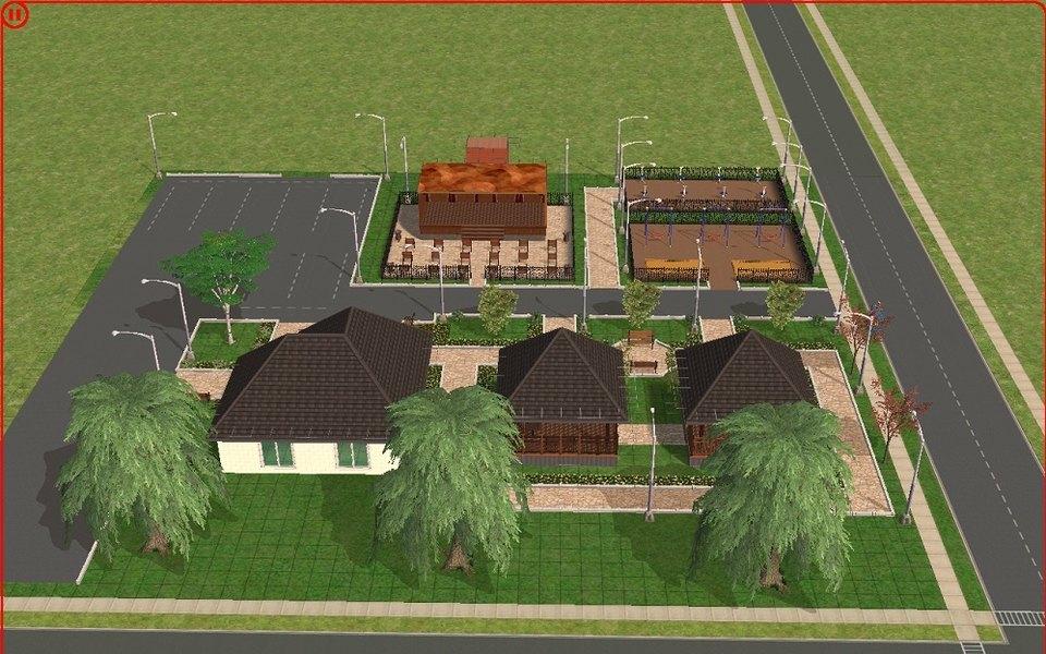 В Ленобласти дизайн-проекты дворовых территорий сделали вSims 2