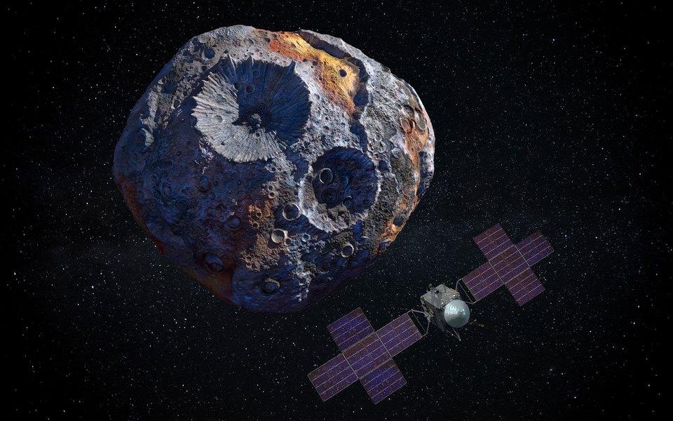 Астероид (16) Психея