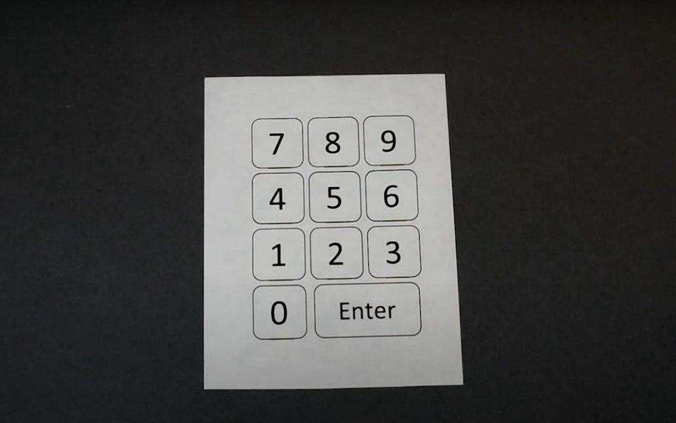 В США изобрели Bluetooth-клавиатуру избумаги