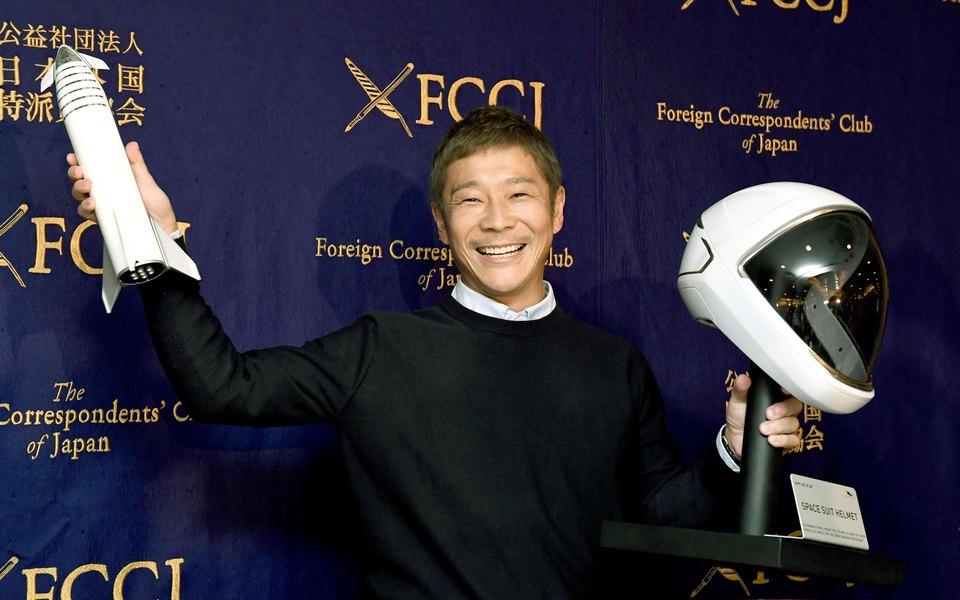 Японский миллиардер объявил поиск спутницы дляполета вокруг Луны