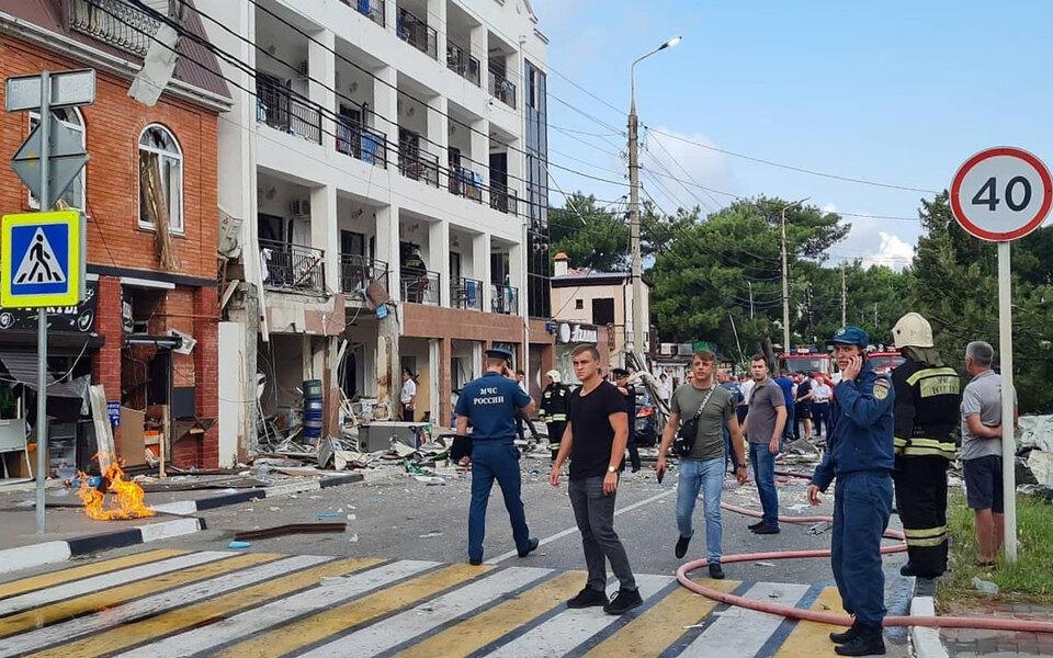 В гостинице в Геленджике прогремел взрыв. Один человек погиб