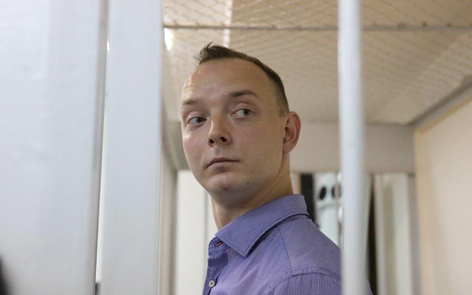 Главреды российских СМИ поручились заобвиняемого вгосизмене Ивана Сафронова