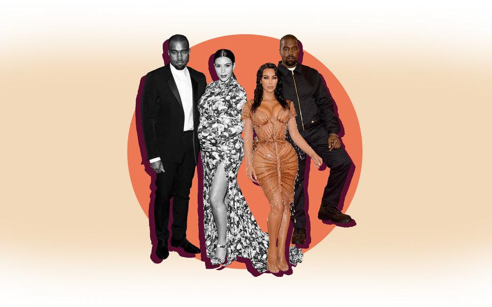 Пара, которую мы запомним: лучшие совместные выходы Ким Кардашьян иКанье Уэста