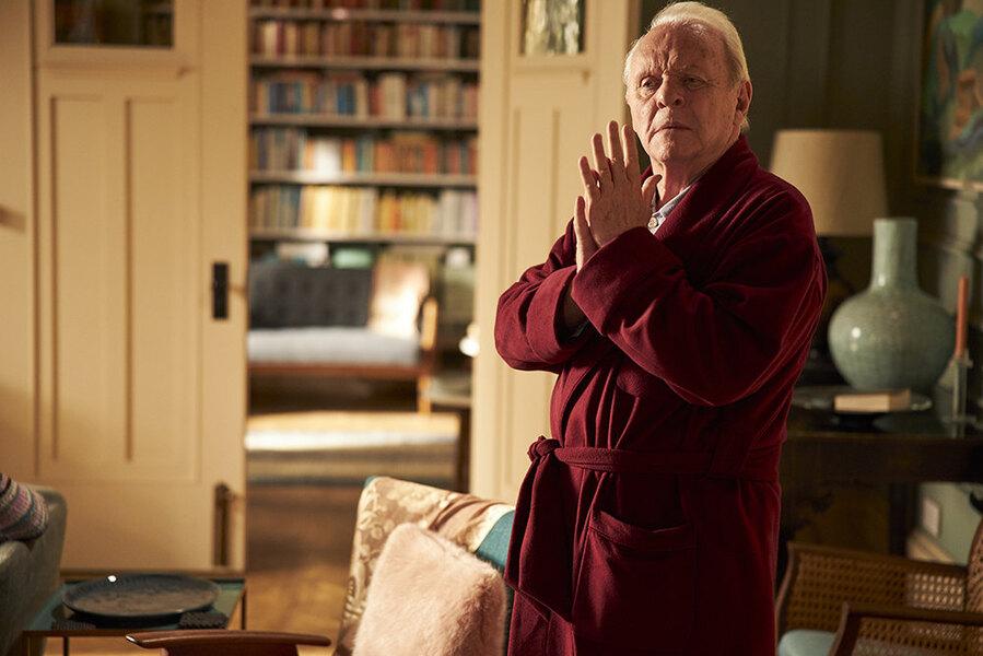 Отец-холодец. Впрокате «Отец» Флориана Зеллера — самый аморфный изкандидатов на«Оскар». Зато сЭнтони Хопкинсом — ион здесь гениален