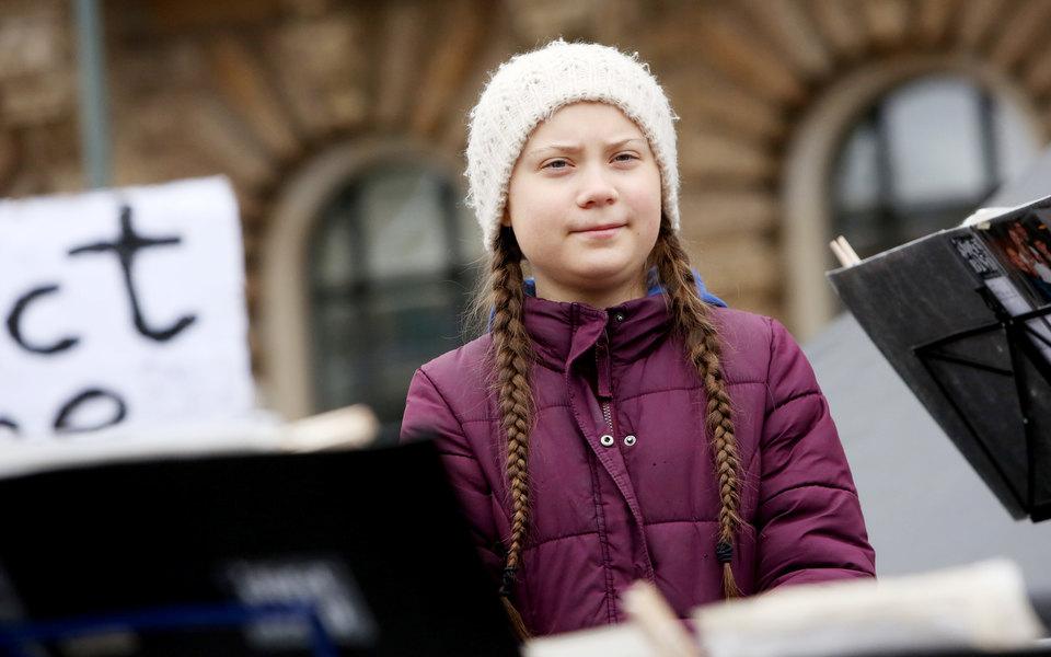 На Нобелевскую премию мира выдвинули 16-летнюю школьницу изШвеции. Она известный борец заэкологию