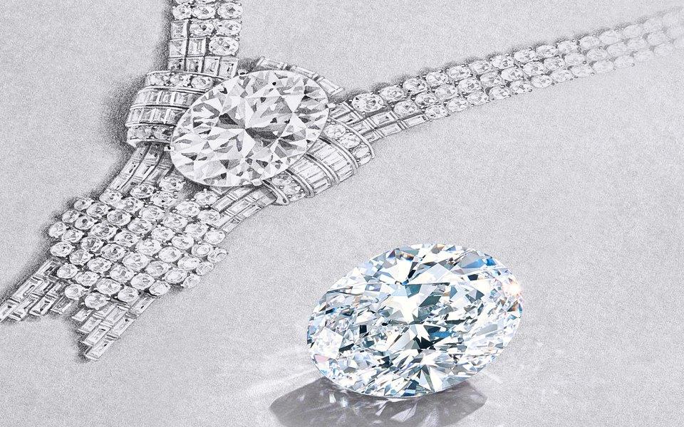 Tiffany & Co. покупают уникальный бриллиант весом 80 карат, чтобы обновить архивное колье 1939 года