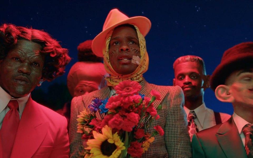 A$AP Rocky рассказал, как появился его знаменитый образ скосынкой babushka boi