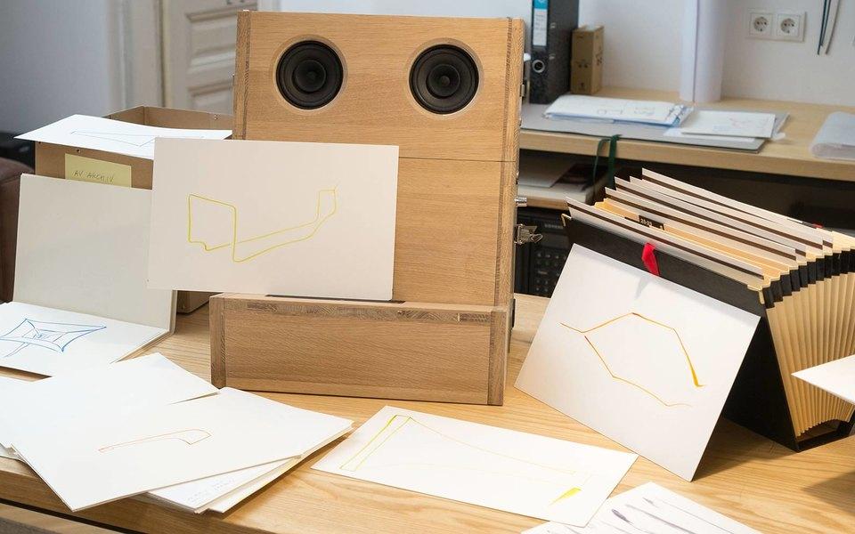 Композитор Фолькмар Клиен ицифровая лаборатория Snark.art представили совместный проект Sometimes a Thousand Twangling Instruments