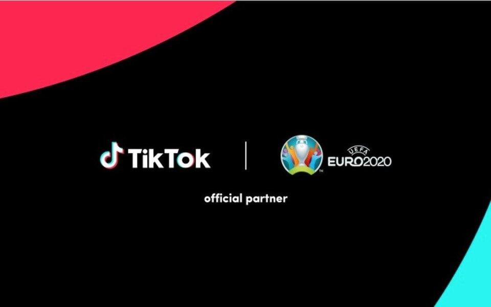 TikTok стал официальным партнером чемпионата Европы пофутболу 2020