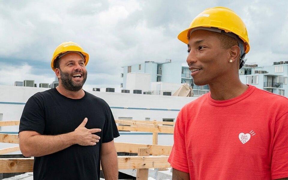 Фаррелл Уильямс построил вМайами отель вдухе фильмов Уэса Андерсона