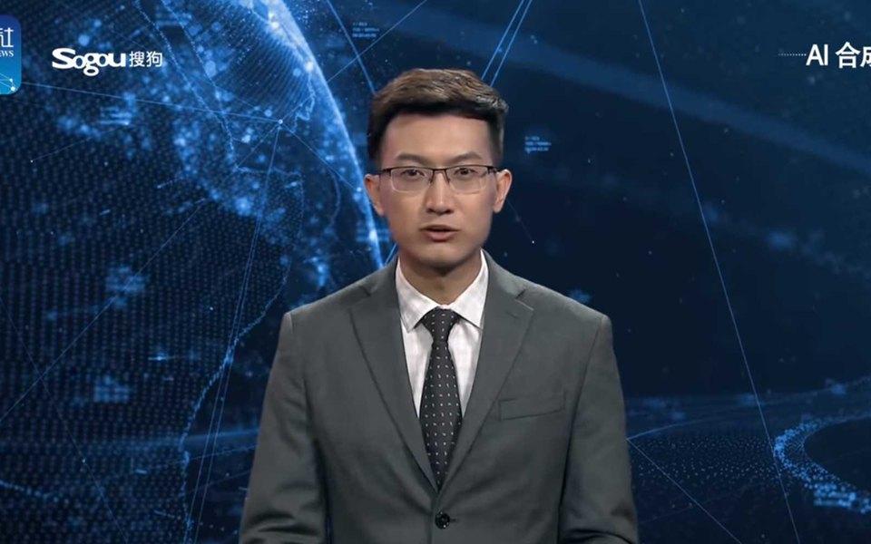В Китае появился робот-телеведущий. Он способен работать круглые сутки беззарплаты иеды