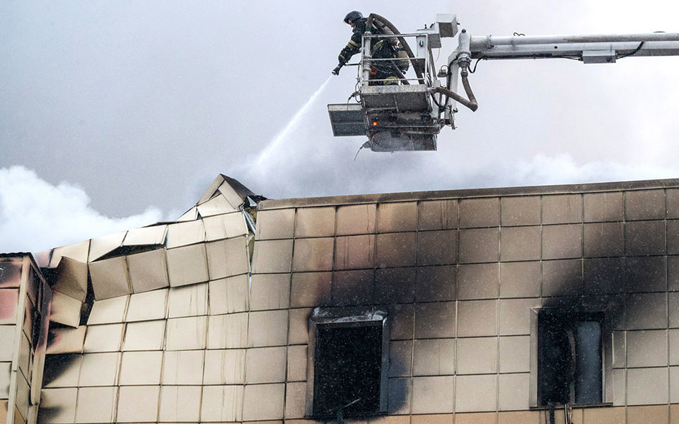 Только одна изсеми обвиняемых поделу опожаре в«Зимней вишне» частично признала вину