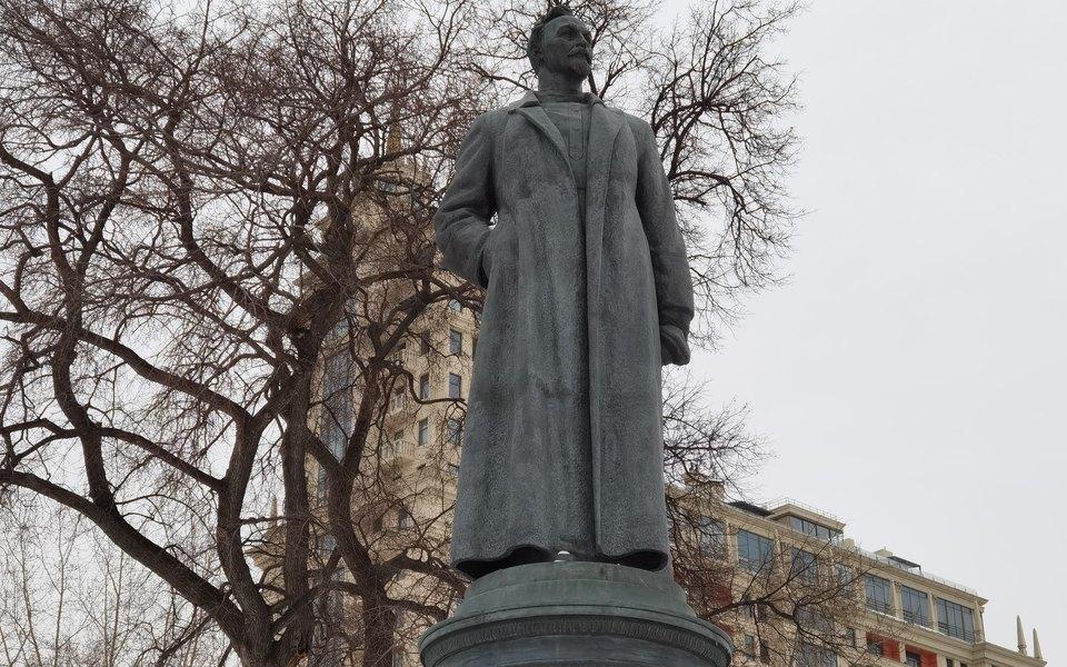 Памятник Феликсу Дзержинскому в парке «Музеон»