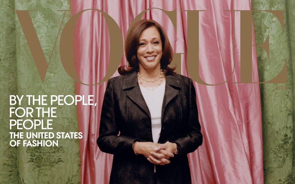 Первая женщина — вице-президент США Камала Харрис стала лицом обложки американского Vogue. Съемка вызвала скандал