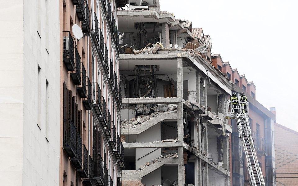 В центре Мадрида произошел взрыв. Есть погибшие