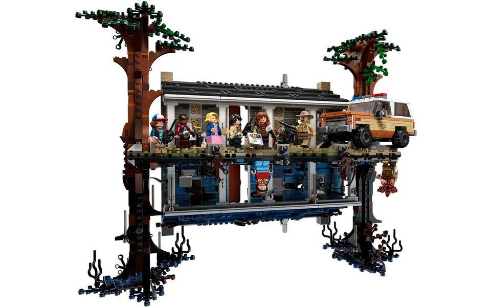 В гостях удемогоргона: LEGO выпустили конструктор-перевертыш помотивам сериала «Очень странные дела»