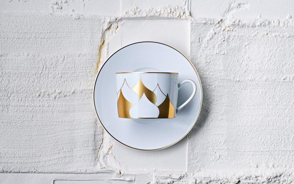 Cartier, фарфоровая компания Bernardaud ихудожник Дима Логинов выпустили совместную коллекцию чайной посуды