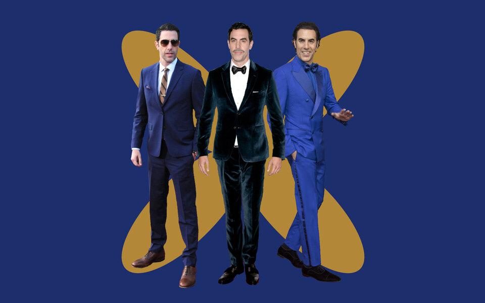 Не Боратом единым: как синие костюмы Саши Барона Коэна становились все более яркими