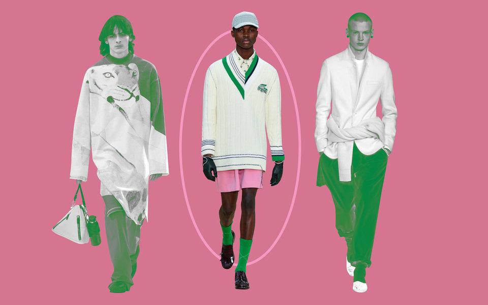 Парад двойников иодежда изархивных вещей: лучшие показы недели моды вПариже смужскими выходами