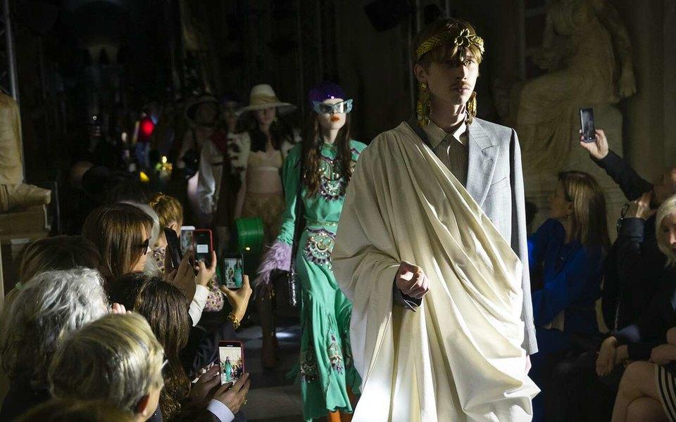 Gucci проведут круизный показ вСан-Франциско