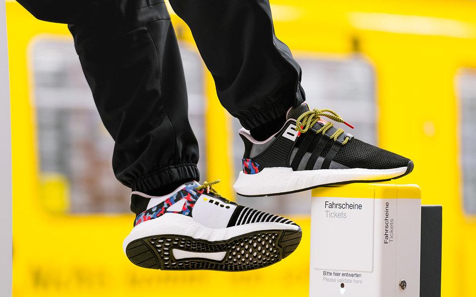 В Берлине закроссовками-проездными adidas выстроилась очередь