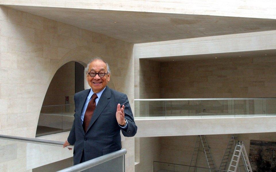 В США умер архитектор Бэй Юймин. Он создал пирамиду Лувра