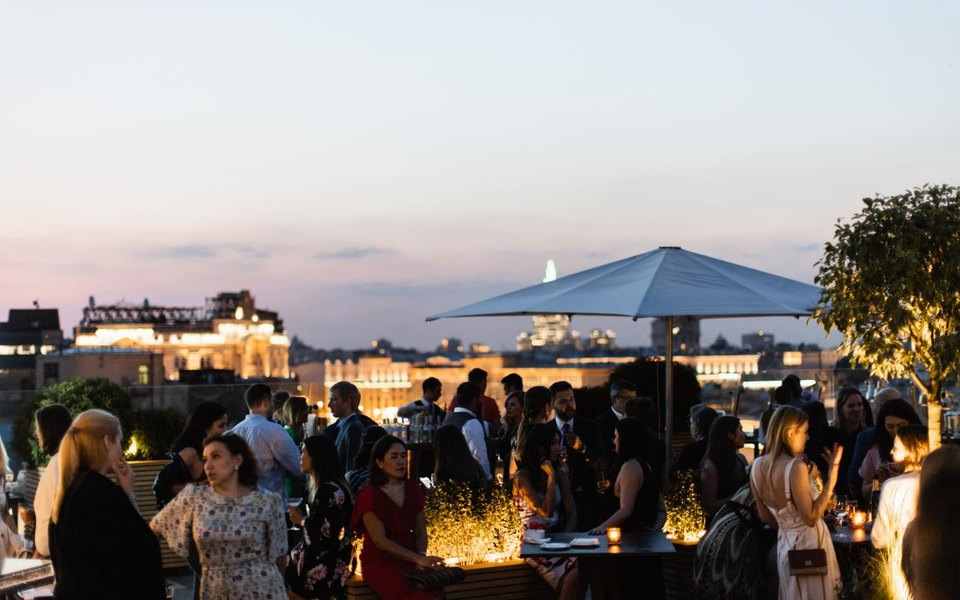 O2 Lounge открыли летний сезон