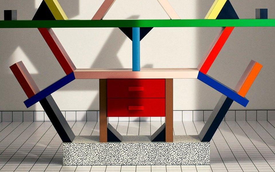 Saint Laurent выпустили коллекцию мебели вместе сдизайн-группой Memphis