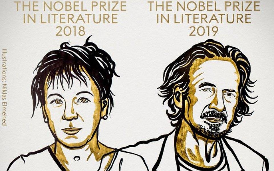 Нобелевскую премию политературе присудили Ольге Токарчук иПетеру Хандке