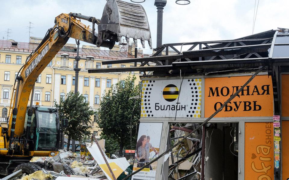 Минпромторг хочет вернуть палатки иларьки вМоскву идругие крупные города