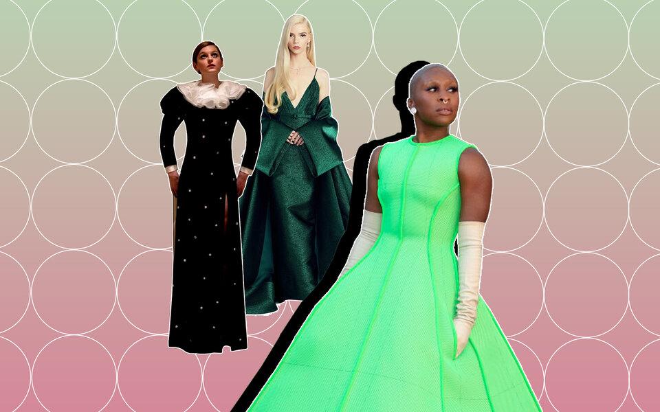 «Золотой глобус — 2021»: лучшие платья красной дорожки, реальной ивиртуальной