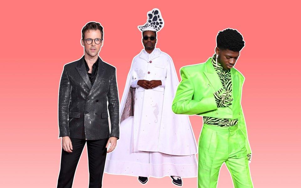 Блестящие пиджаки, неон иплащ морской царицы: самые модные мужчины накрасной дорожке American Music Awards