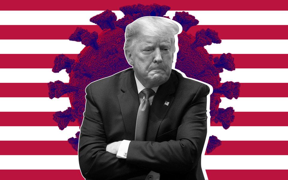 Трамп против коронавируса: почему пандемия сначала подняла, а потом обрушила рейтинги президента США